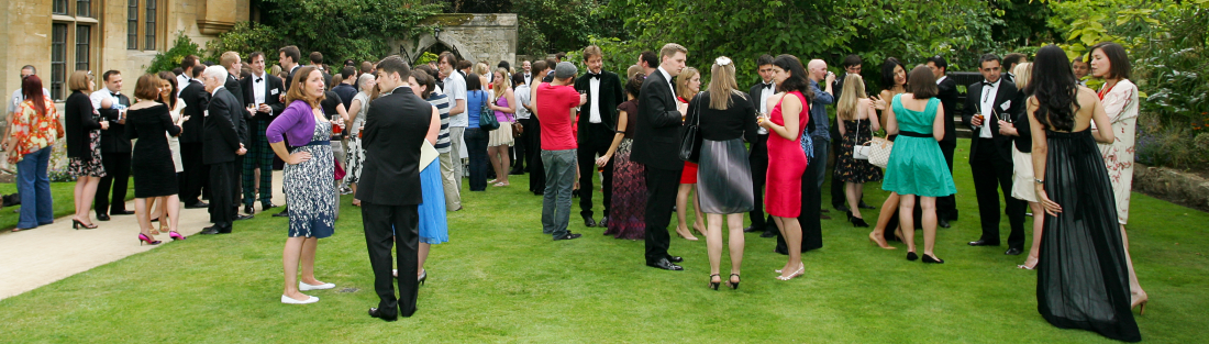 Balliol alumni at a Gaudy