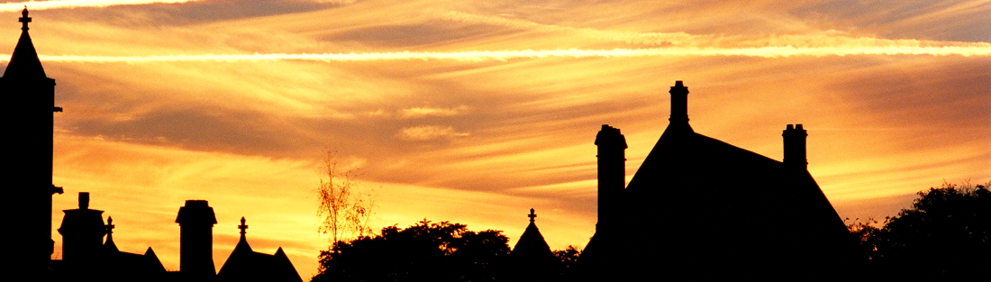 Balliol at sunset
