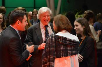 The Master meets Balliol Alumni (photo: Lorin Somija)