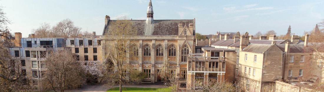 View of Balliol Hall