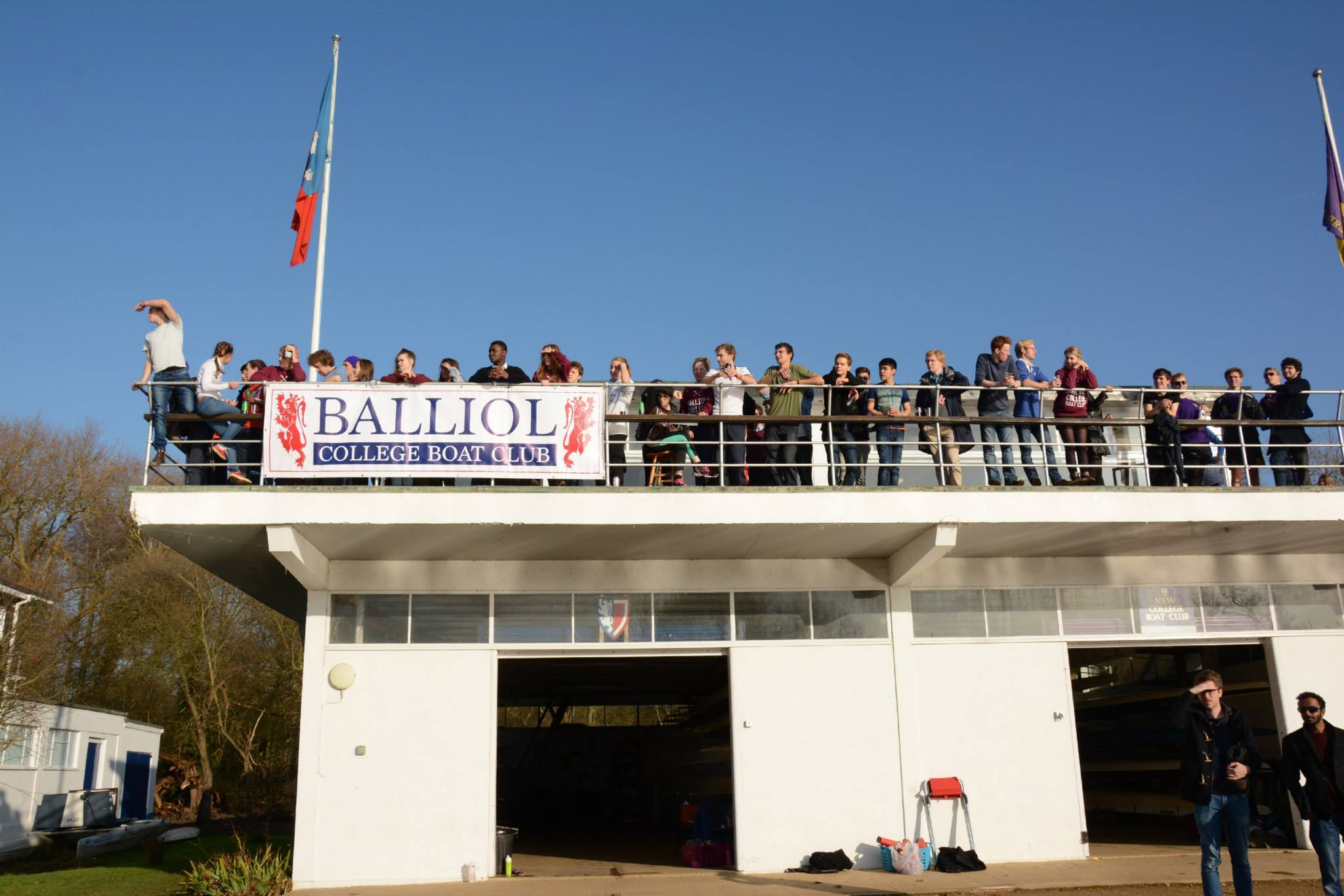 Balliol College Boathouse