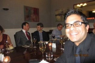Suman Chowdhury (Univ 1990) helped gather alumni local to Aberdeen