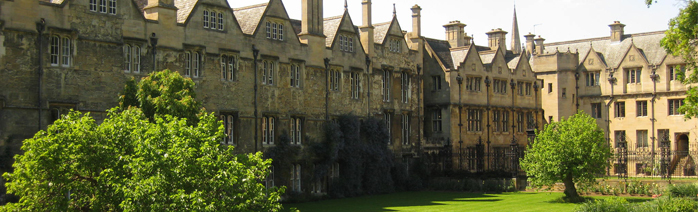 View of Merton College