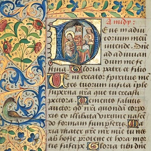 Christmas Card Book of Hours