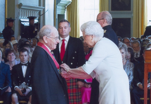 Harvey McGregor receives CBE