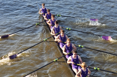 New College rowers