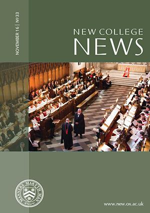 New College News, November 2016