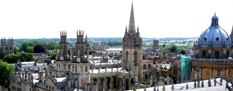 Oxford rooftops