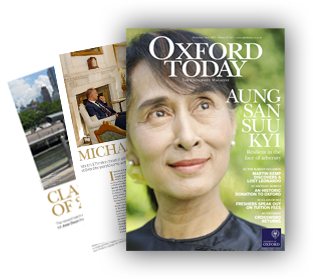 Oxford Today magazine cover MT12